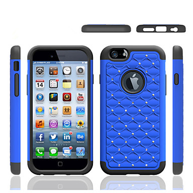Capinha Para iPhone 5 Apple Capinha iPhone 5 Antichoque Capa traseira Côr Sólida Macia Silicone para iPhone SE/5s iPhone 5