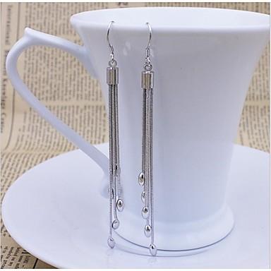 Druppel oorbellen Sterling zilver Sieraden Voor Bruiloft Feest Dagelijks Causaal 1 Set