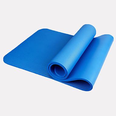 Yoga Mats Geurvrij Milieuvriendelijk Waterbestendig Snel Drogend Extra Breed Non Toxic Kleverig Extra Lang NBR 1.5 mm voor