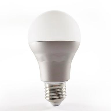 E26/E27 Bulbi LED Inteligenți A60(A19) 15 led-uri SMD 5050 WIFI RGB 650LMlm RGB+3000KK AC 100-240V