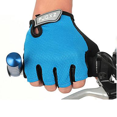 FJQXZ Luvas Esportivas Luvas de Ciclismo Anti-desgaste Resistente ao Choque Leve Sem Dedo Malha Ciclismo / Moto Homens Mulheres