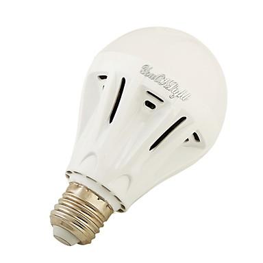 7W E27 LED Küre Ampuller A60(A19) 20 SMD 5730 700 lm Sıcak Beyaz Serin Beyaz AC220 V 1 parça