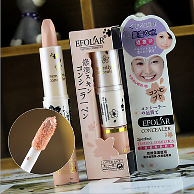 3 Concealer/Contour Droog Nat Crème Concealer Donkere kringen behandeling Tegen acné Sproeten Anti-rimpel Gezicht Ogen Lippen Others