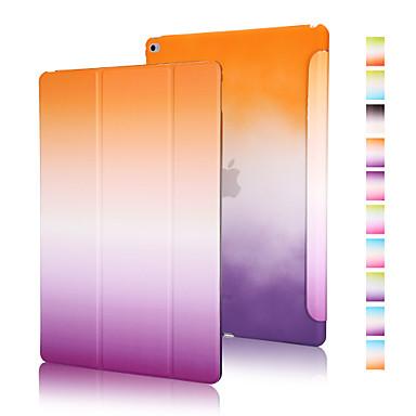 Capinha Para iPad Air 2 Origami Capa Proteção Completa Cores Gradiente PU Leather para iPad Air 2