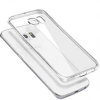 Capinha Para Samsung Galaxy Samsung Galaxy Capinhas Transparente Capa traseira Côr Sólida PC para S6 edge plus S6 edge S6 S5