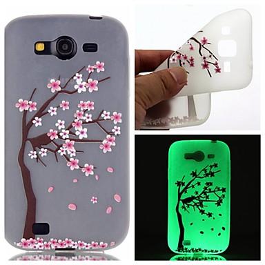 Para Samsung Galaxy Capinhas Brilha no Escuro / Estampada Capinha Capa Traseira Capinha Flor TPU SamsungOn 7 / On 5 / J3 / J1 Ace / Grand