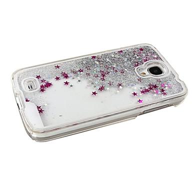 Capinha Para Samsung Galaxy Samsung Galaxy Capinhas Liquido Flutuante Capa traseira Glitter Brilhante PC para S4