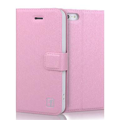Capinha Para Apple Capinha iPhone 5 iPhone 6 iPhone 6 Plus iPhone 7 Plus iPhone 7 Porta-Cartão Carteira Com Suporte Flip Capa Proteção
