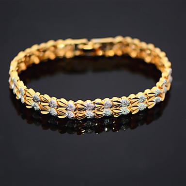 Dames Armbanden met ketting en sluiting Liefde Verguld LOVE Sieraden Kerstcadeaus Bruiloft Feest Dagelijks Causaal