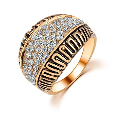 Dames Bandringen Kostuum juwelen Zirkonia Sieraden Voor Bruiloft Feest Dagelijks Causaal