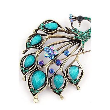 Mulheres Broches - Fashion Azul Broche Para Festa / Casual