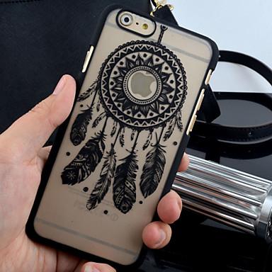 nova mate teste padrão gravado caso PC material de impressão campanula de telefone para iPhone 6 / 6s (cores sortidas)