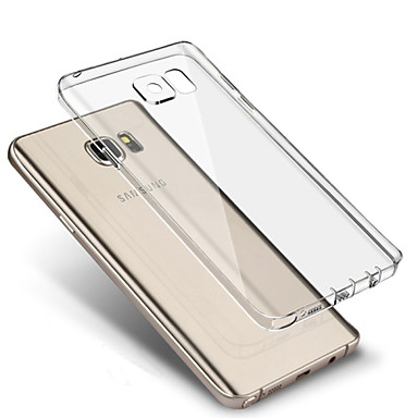 Custodia Per Samsung Galaxy Samsung Galaxy S7 Edge Ultra sottile / Transparente Per retro Tinta unita TPU per S7 edge / S7