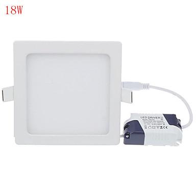 HRY 3000/6500 lm Paneellampen 90 leds Krachtige LED Decoratief Warm wit Koel wit AC 85-265V