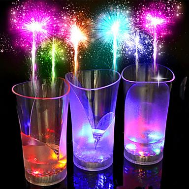 nieuwe kleurrijke kleur, bar, nieuw glas / beker / glas / plastic 1pcs thee drinken