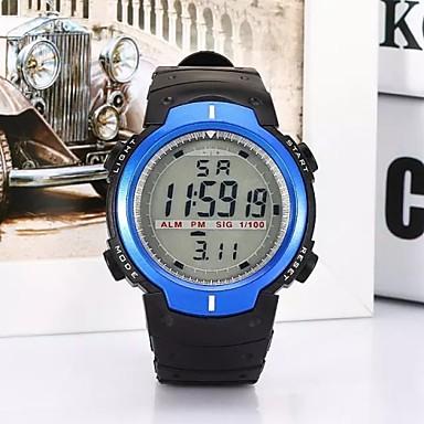 Ψηφιακό Μοδάτο Ρολόι Αθλητικό Ρολόι Μοντέρνα Plastic Μπάντα Καθημερινό Μαύρο