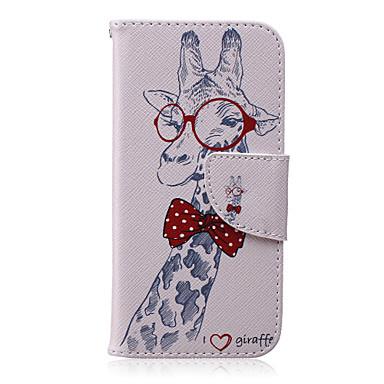 Voor iPhone X iPhone 8 iPhone 6 iPhone 6 Plus Hoesje cover Portemonnee met standaard Flip Volledige behuizing hoesje dier Hard PU-leer