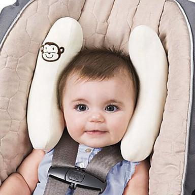 ziqiao proteção, baby ajustável apoio pescoço travesseiro equipado para assento de carro carrinho de criança carrinho de bebê travesseiro
