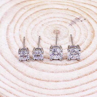Dames Oorknopjes Kostuum juwelen Sterling zilver Sieraden Voor Bruiloft Feest Dagelijks Causaal Sport