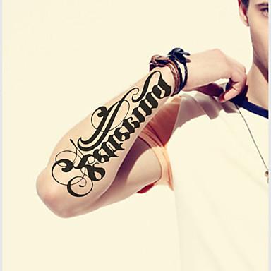 impermeável tatuagens temporárias grande braço de transferência falsa tatuagem autocolantes pulverização sexy