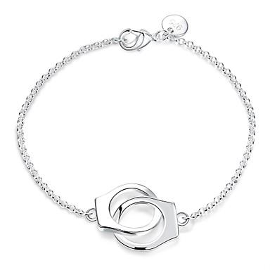 Femme Chaînes & Bracelets Charmes pour Bracelets Mode Argent sterling Cuivre Médaillon Bijoux Mariage Soirée Bijoux de fantaisie