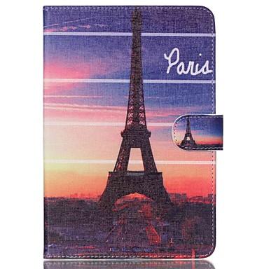 Voor Samsung Galaxy hoesje Portemonnee / Kaarthouder / met standaard / Flip / Patroon hoesje Volledige behuizing hoesje Eiffeltoren