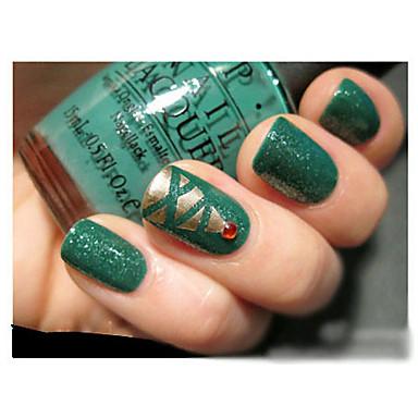 2 stuks nail art band rollen nagels decoratie rand gids tips diy stickers manicure streep instrumenten (0,5 cm * 17m)