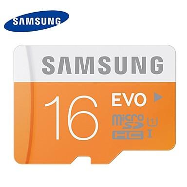 samsung 16gb class 10 microSD / microSDHC / microSDXC / TF 48MB / s 10MB / s geheugenkaart