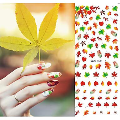 1 Transferência de água adesivo Outras decorações Flor Abstracto Fashion Casamento Diário Alta qualidade