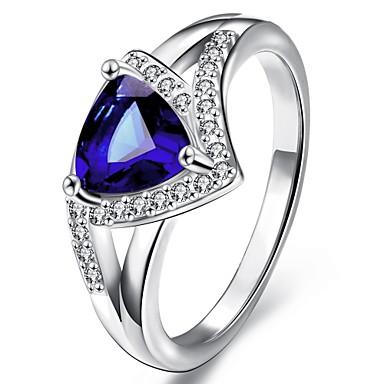 Dames Statement Ring Goud Zilver Goud/Roze Platina Verguld Verguld Roos verguld Bruiloft Feest Dagelijks Causaal Kostuum juwelen