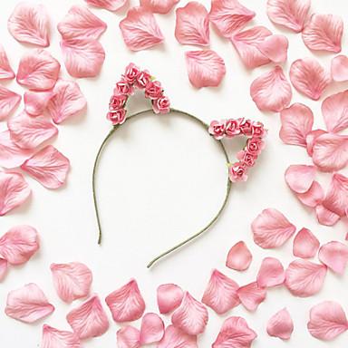 Bruiloft / Feest / Dagelijks / Causaal / n.v.t.-Haarbanden(Papier,Donkerblauw / Kussenhoezen / Roos / Marineblauw / Wit / Geel / Rood /
