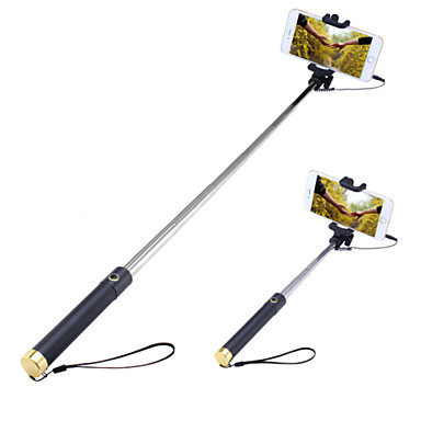 f07b270ac1c cheap Selfie Sticks-Selfie Stick with A Built-in Remote Shutter Mini3  Extendable Handled
