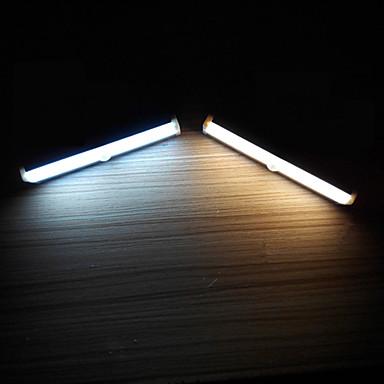 YouOKLight 1 db LED éjszakai fény Meleg fehér Hideg fehér AkkumulátorBattery Érzékelő