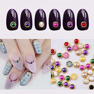 100pcs metal edage nail pearls 기타 장식 클래식 러블리 일상 클래식 러블리 고품질