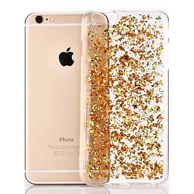 Kompatibilitás iPhone 8 iPhone 8 Plus iPhone 6 iPhone 6 Plus tokok Átlátszó Hátlap Case Csillogó Puha Hőre lágyuló poliuretán mert iPhone
