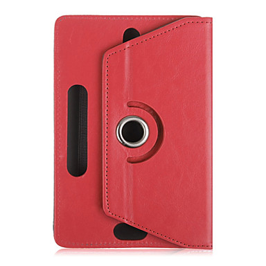 Case For Full Body Cases Tablet Cases Solid Color Hard PU Leather for
