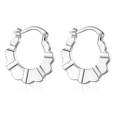Dames Oorknopjes Clip oorbellen Modieus Sterling zilver Koper Verzilverd Zilver Sieraden Bruiloft Feest Dagelijks Causaal