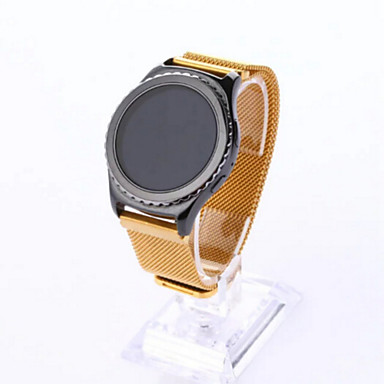 시계 밴드 용 Gear S2 Samsung Galaxy 밀라노 루프 스테인레스 스틸 손목 스트랩