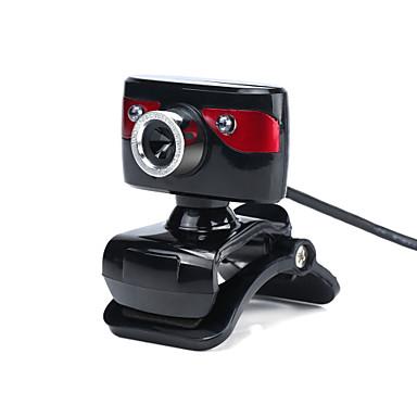 12m 2.0 2 LED HD fotocamera webcam web cam videocamera digitale web con il mic per il computer portatile del PC