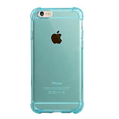 Mert iPhone 6 tok / iPhone 6 Plus tok Ütésálló / Átlátszó Case Hátlap Case Egyszínű Puha TPU iPhone 6s Plus/6 Plus / iPhone 6s/6