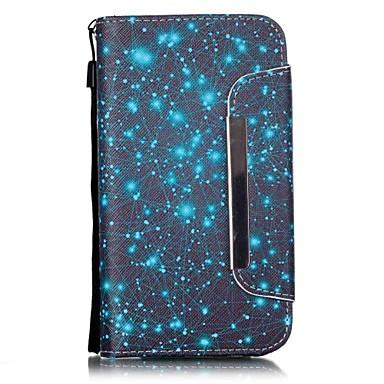 Mert Samsung Galaxy tok Kártyatartó / Pénztárca / Állvánnyal / Flip Case Teljes védelem Case Mértani formák Műbőr Samsung J5