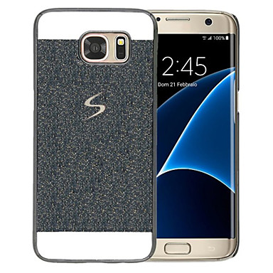 voordelige Galaxy Note 5 Hoesjes / covers-hoesje Voor Samsung Galaxy Note 5 / Note 4 / Note 3 Patroon Achterkant Glitterglans Hard PC