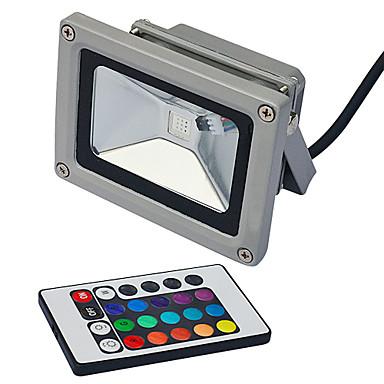 Focos de LED 1 Contas LED LED Integrado Controle Remoto RGB 85-265V