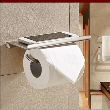 Toiletrolhouder / Zilver Roestvast staal /Hedendaags