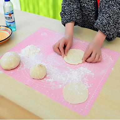 nieuwe keuken roll cut mat rollen cutting pad fondant taart deeg klei kalibratie