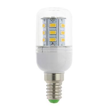 300 lm E14 G9 GU10 E26/E27 E26 E12 B22 LED kukorica izzók T 24 led SMD 5730 Meleg fehér Hideg fehér AC 85-265V