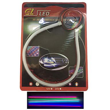 2 db kibocsátó cső vezetett lágy lámpa automatikus szemöldök kiemelése LED lámpa világít a cikk 30 cm