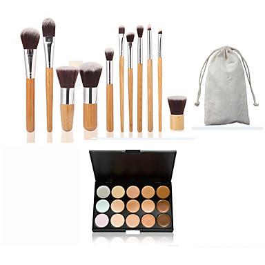 Concealer / Kontur Make-up Pinsel 1 pcs Auge / Lippe / Gesicht Klassisch / Mittelgroße Pinsel / Kleine Pinsel Alltag Bilden Kosmetikum