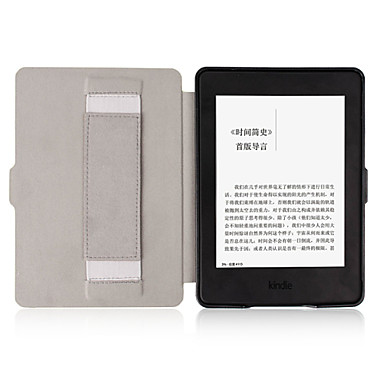 Case For Amazon Kindle Full Body Cases Full Body Cases Print Solid Color Novelty Hard PU Leather for