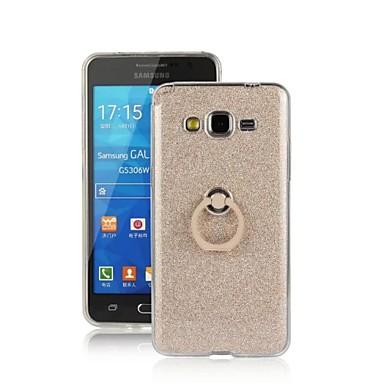 케이스 제품 Samsung Galaxy 삼성 갤럭시 케이스 링 홀더 뒷면 커버 글리터 샤인 TPU 용 Grand Prime